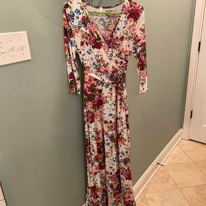Pinkblush maxi maternity dress